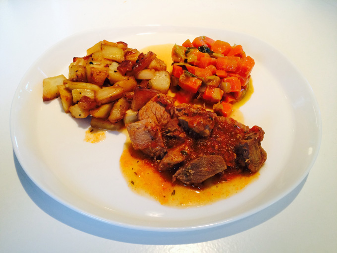 pastinaak wortel stoofvlees